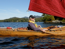 Hugh Horton, the Designer of the Bufflehead sailing canoe